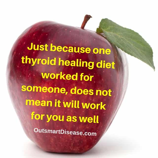 thyroid healing diet