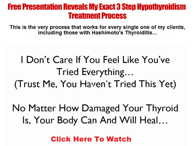 Hypothyroidism Treatment Presentation
