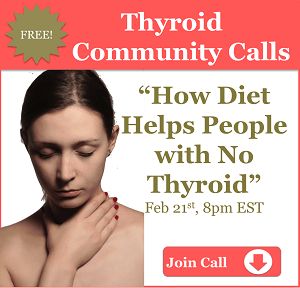 Without thyroid