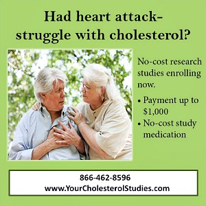 high cholesterol trials USA