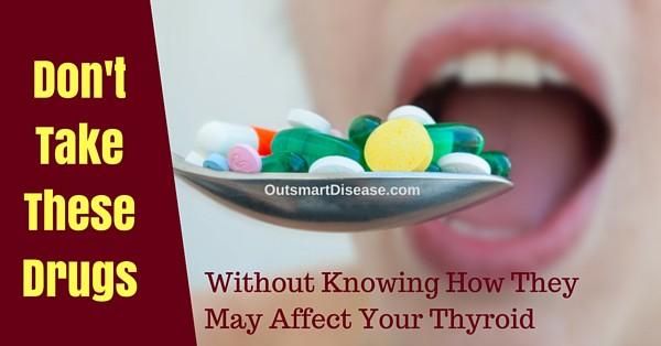 Thyroid drug interactions