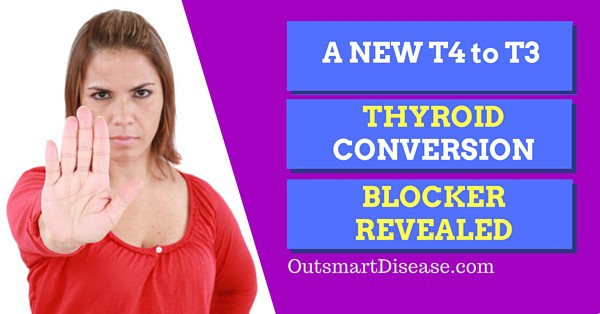 T4 to T3 thyroid blocker