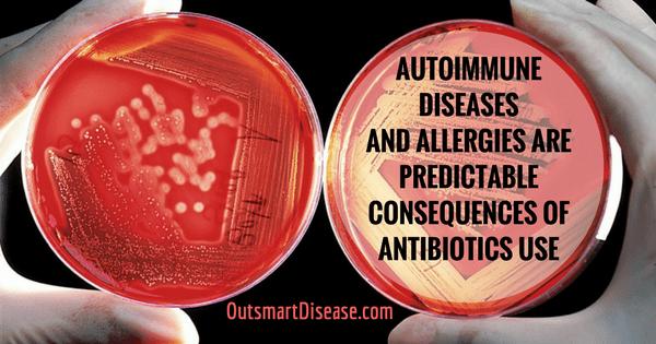 antibiotics consequences for thyroid