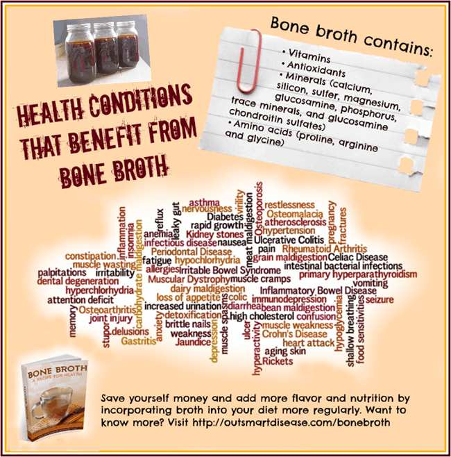 Bone broth health