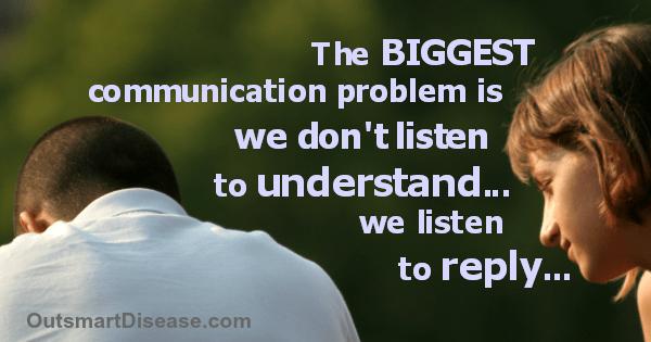 We Don't Listen To Understand