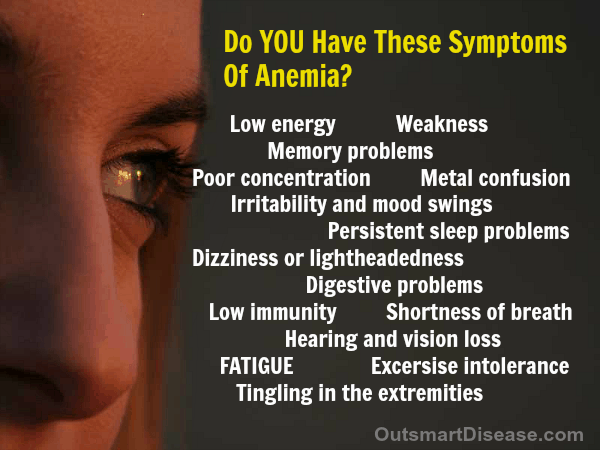 Common Symptoms Of Anemia