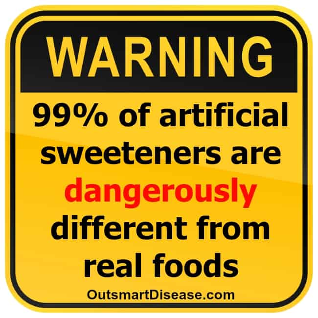 Artificial sweeteners and thyroid