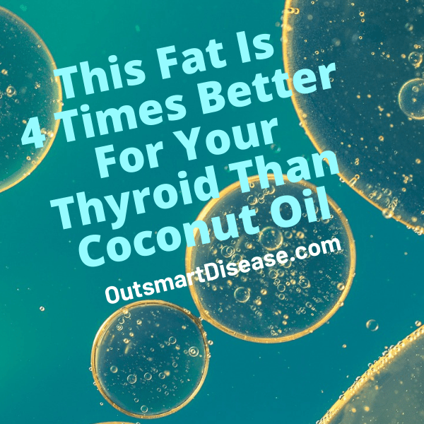 Coconut Oil For Low Thyroid