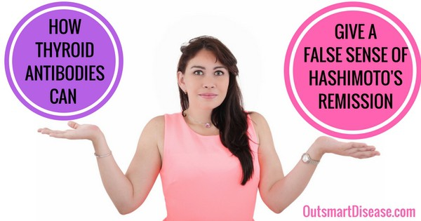 False Hashimoto's remission