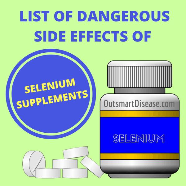 selenium side effects