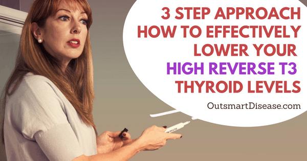 High Reverse T3 thyroid Hormone